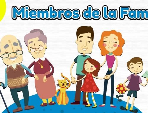 Miembros de la Familia en Inglés (Aprender Ingles Americano)